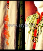 Jalebi Winter Casual Dresses 2014 For Girls 3