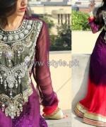 Jannat Nazir Winter Dresses 2014 For Girls 1