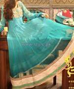 Jannat Nazir Winter Dresses 2014 For Girls 2