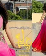 Jannat Nazir Winter Dresses 2014 For Girls 3