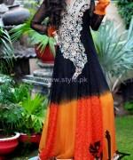 Jannat Nazir Winter Dresses 2014 For Women 7