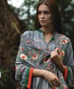 LSM Fabrics Merino Shawl Designs 2013-2014 For Women 6