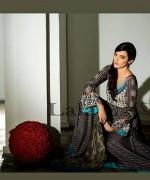 Lala Sana and Samia Celebre Embroidered Winter Dresses 2013-2014 002
