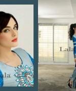 Lala Sana and Samia Celebre Embroidered Winter Dresses 2013-2014 003