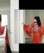 Lala Sana and Samia Celebre Embroidered Winter Dresses 2013-2014 005