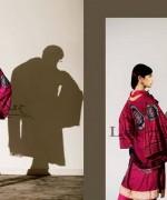 Lala Sana and Samia Celebre Embroidered Winter Dresses 2013-2014 006