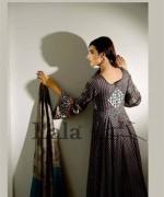 Lala Sana and Samia Celebre Embroidered Winter Dresses 2013-2014 008