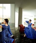 Lala Sana and Samia Celebre Embroidered Winter Dresses 2013-2014 010