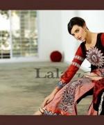 Lala Sana and Samia Celebre Embroidered Winter Dresses 2013-2014 013