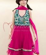 Mansha Winter Dresses 2013-2014 For Kids 008
