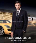 Nabeel and Aqeel Men Clothes 2014 For Winter 4
