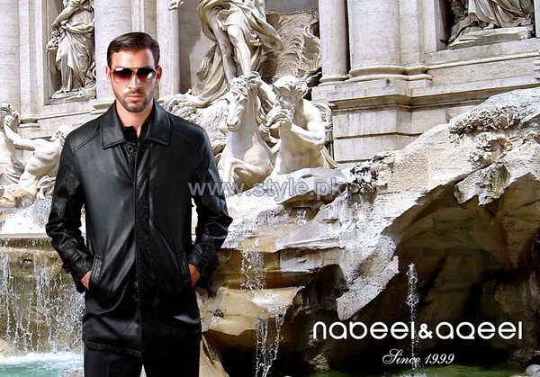 Nabeel and Aqeel Menswear Clothes 2014 For Winter 5