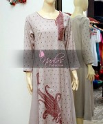 Nadia's Collection Winter Dresses 2014 For Women 003
