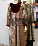 Nadia's Collection Winter Dresses 2014 For Women 007