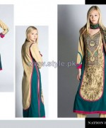 Nation by Riaz Arts Winter Dresses 2013-2014 For Women 12