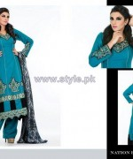 Nation by Riaz Arts Winter Dresses 2013-2014 Volume 2 5