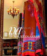 Naureen Arbab Party Wear Dresses 2014 For Winter 1
