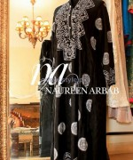 Naureen Arbab Party Wear Dresses 2014 For Winter 2