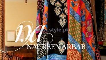Naureen Arbab Party Wear Dresses 2014 For Women 9