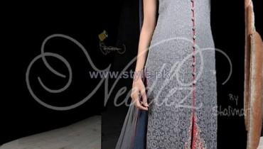Needlez by Shalimar Winter Dresses 2014 For Women 6