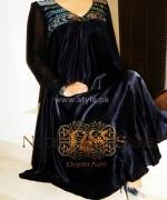Noor Sahar Winter Dresses 2014 For Girls 2
