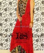 Noor Sahar Winter Dresses 2014 For Girls 3