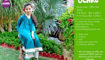 Ochre Clothing Winter Dresses 2014 For Kids 11
