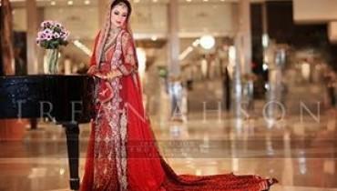 Pakistani Bridal Dresses 2014 For Girls 002