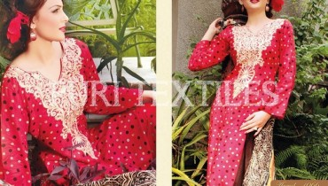 Puri Textiles Winter Dresses 2013-2014 For Women 0010
