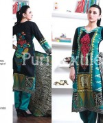 Puri Textiles Winter Dresses 2013-2014 For Women 004