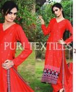 Puri Textiles Winter Dresses 2013-2014 For Women 006