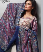Rabeah Pashmina Shawl Collection 2014 by Shariq Textiles 1