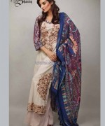 Rabeah Pashmina Shawl Collection 2014 by Shariq Textiles 2