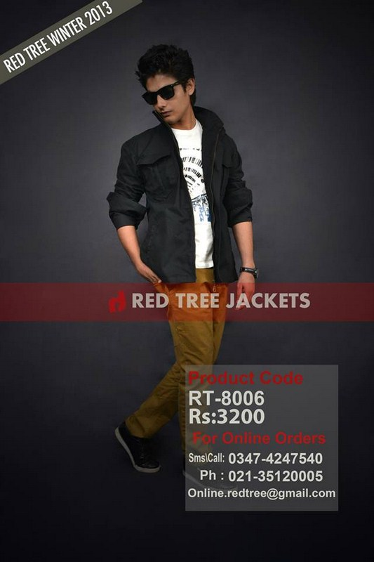 Red Tree Winter Jackets 2014 For Men 003