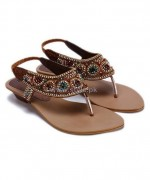 Regal Shoes Party Wear Sandals 2014 For Girls 4