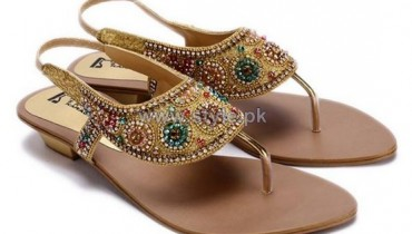 Regal Shoes Party Wear Sandals 2014 For Girls 5