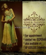 Rehan and Muzammil Formal Dresses 2014 For Winter 2
