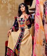 Rujhan Fabric Winter Dresses 2014 For Girls 1