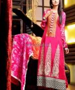 Rujhan Fabric Winter Dresses 2014 For Girls 5