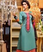 Rujhan Fabric Winter Dresses 2014 For Women 6