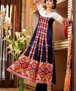 Rujhan Fabric Winter Dresses 2014 For Women 8