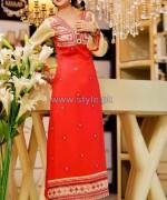 Rujhan Fabric Winter Dresses 2014 For Women 9