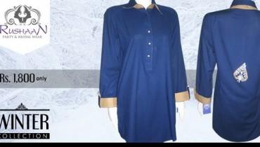 Rushaan Winter Dresses 2014 For Women 007