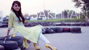 Sakhiyan Winter Clothes 2014 For Girls 5