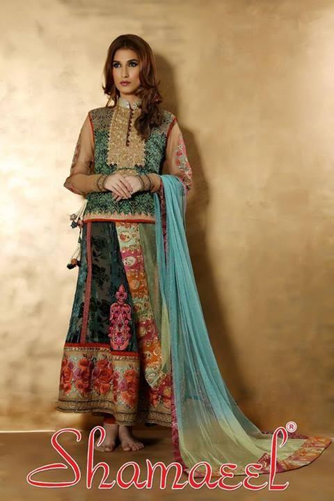 Shamaeel Ansari Winter Dresses 2013-2014 for Women