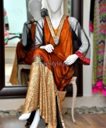 Shirin Hassan Winter Arrivals 2014 For Girls 1