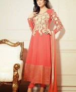 Sushmita Sen Anarkali Frocks 2014 for Girls003
