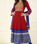 Sushmita Sen Anarkali Frocks 2014 for Girls009