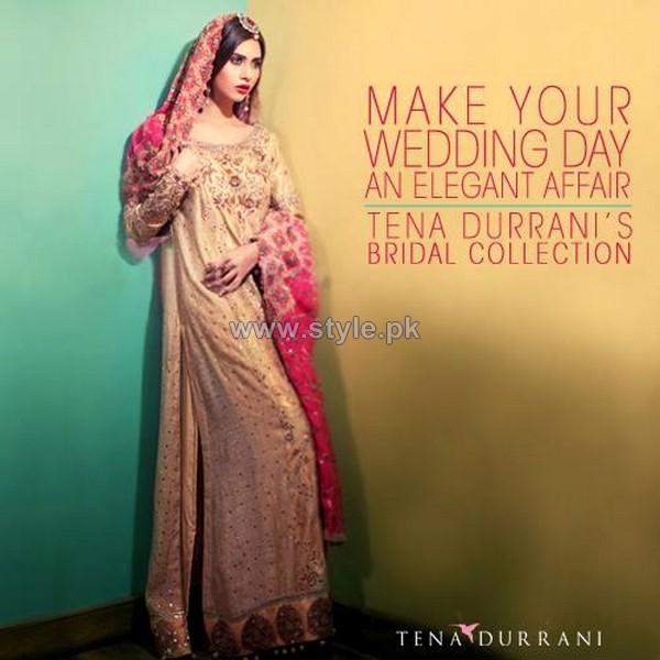 Tena Durrani New Formal And Bridal 2014 Dresses 2