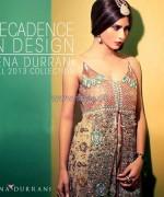 Tena Durrani New Formal And Bridal 2014 Dresses 4